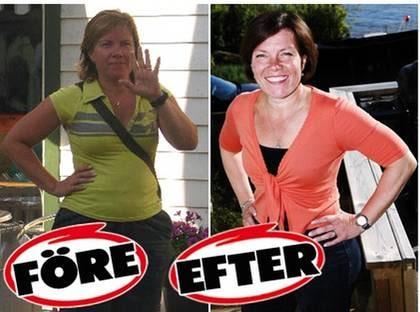 TAPPADE ÅTTA KILO. Maria Berggren har gått ner åtta kilo med 15-minutersmetoden.