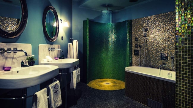 <span>Lyxigt badrum på Dorsia hotell i Göteborg</span>