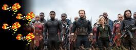 """Avengers: Infinity war""  får en att tappa andan"