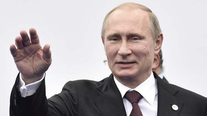 Rustar upp. För president Vladimir Putin har det varit viktigt att befästa makten över ryska medier. I dag har man närmast en total dominansnär det gäller rapportering i de viktiga frågorna. Foto: Agf S.R.L./Rex