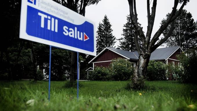 Priserna har skjutit i höjden för både bostadsrätter och villor. Foto: Christian Örnberg/TT NYHETSBYRÅN