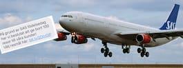 SAS varnar svenska resenärer för ny bluff