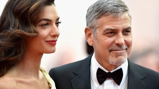George Clooneys kärlekshyllning till sin fru