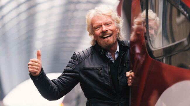 <span>Sir Richard Branson och hans Virgin har tecknat en option på tio Boom-plan.</span>