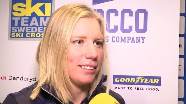 """Sandra Näslund: """"Guld är målet"""""""