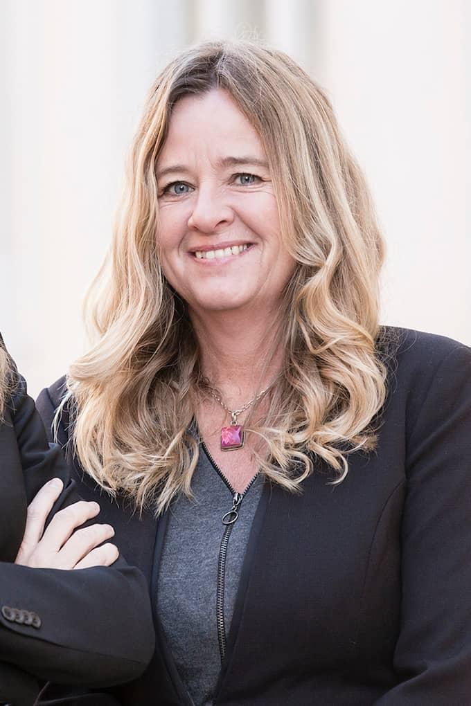 Claudia Wörmann på SBAB tycker att alla bör spara ihop till em buffert. Foto: SBAB
