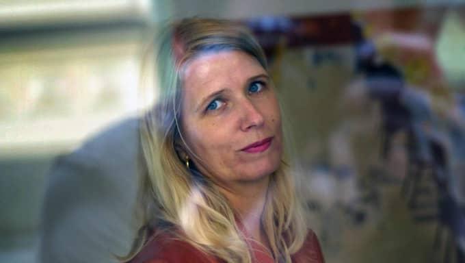 """Konstnären Karin Mamma Andersson är fjärde gästen i """"60 minuter"""". Foto: Fredrik Persson"""