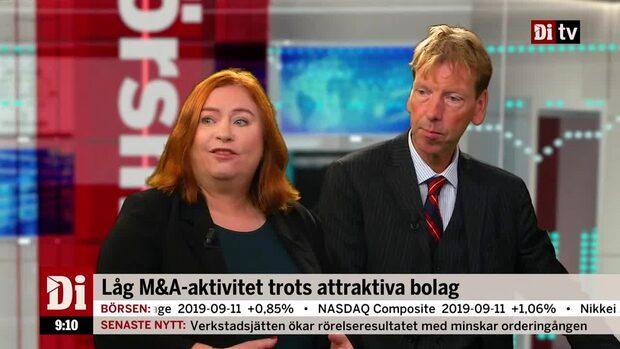 """Analytikern om M&A-aktiviteten """"Hett på marknaden för onoterade bolag"""""""