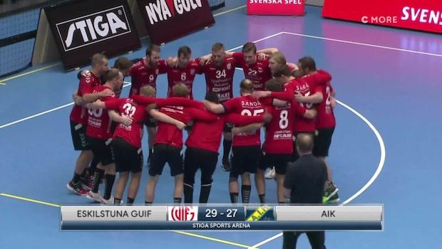 Höjdpunkter: Eskilstuna Guif-AIK
