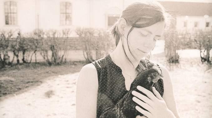 Sarah Lycksten med Bögget. Foto: Daniel Wirgård