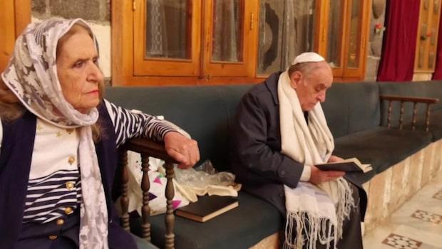 Syskonparet är bland de sista judarna i Syrien