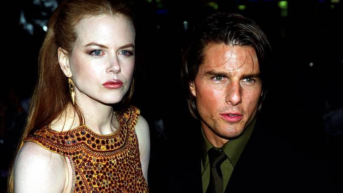Kidman och Cruise skilde sig 2001. Foto: MICHAEL CRABTREE / AP PA
