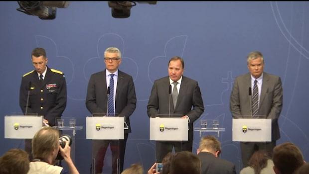 Sverigedemokraterna överväger misstroendevotum mot Löfven