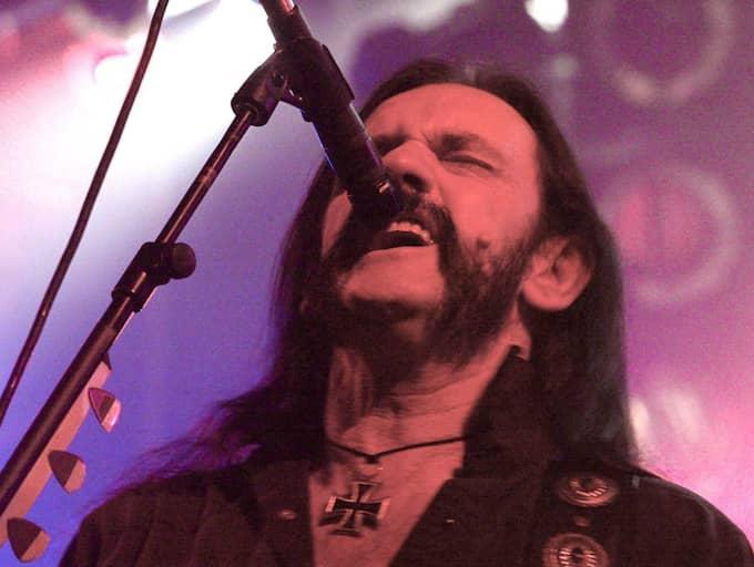 Lemmy Kilmister hann aldrig berätta om sin sjukdom. Foto: Åke Thim