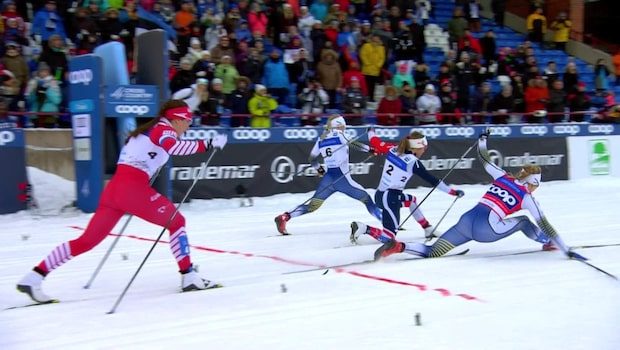 Stina Nilsson skadad när största konkurrenten vann