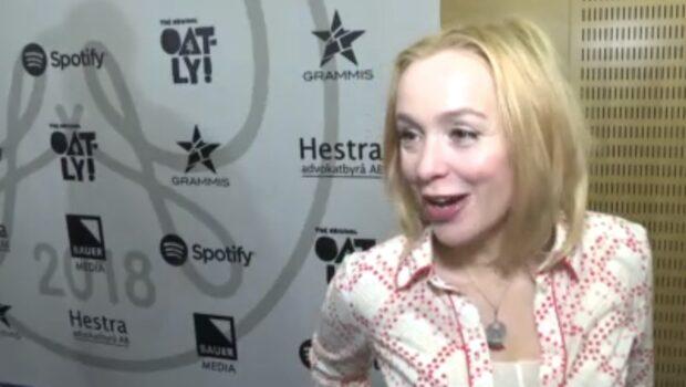 """Lisa Ekdahl om Grammis-nomineringen: """"Väldigt roligt"""""""