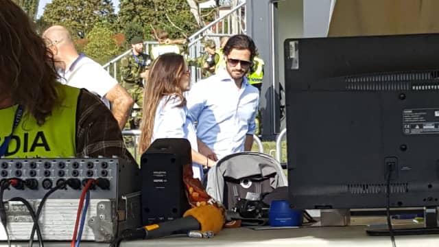 Prins Carl Philip och prinsessan Sofia har köpt ny vagn. Foto: Mia Söderström