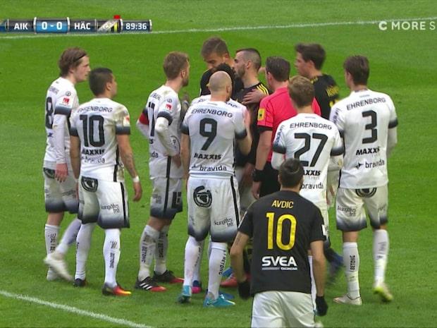 Rejält irriterat när AIK och Häcken blev mållösa