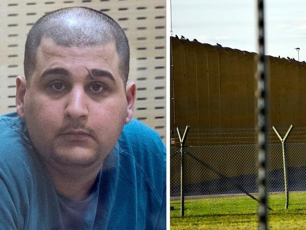 Mördarens attack med stekpanna i fängelset