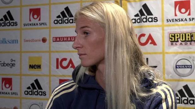 """Sofia Jakobsson: """"Många kommer klara den pressen"""""""