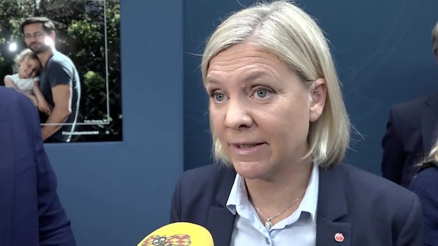 Magdalena Andersson (S) om KD-ledarens kändisresa