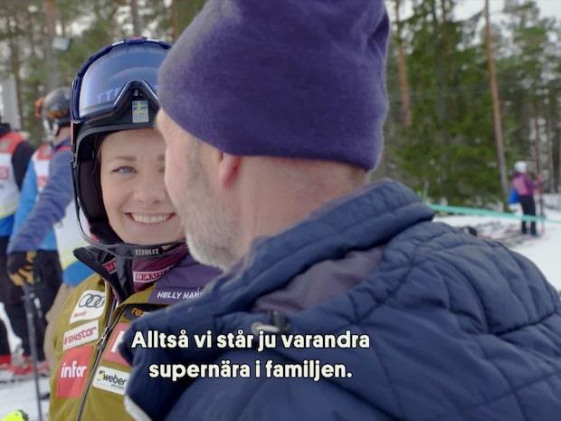 """Hansdotter i Stjärnmötet: """"Pappa har varit jätteviktig för mig"""""""