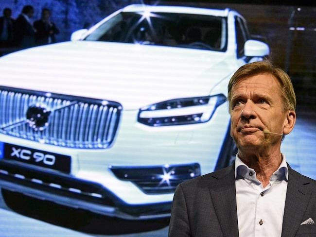 volvos vd om nya satsningen på elmotorer  allt om bilar
