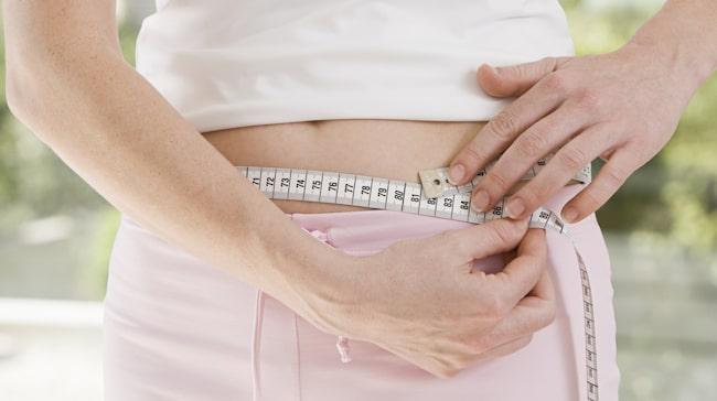 plötslig viktuppgång och svullen mage