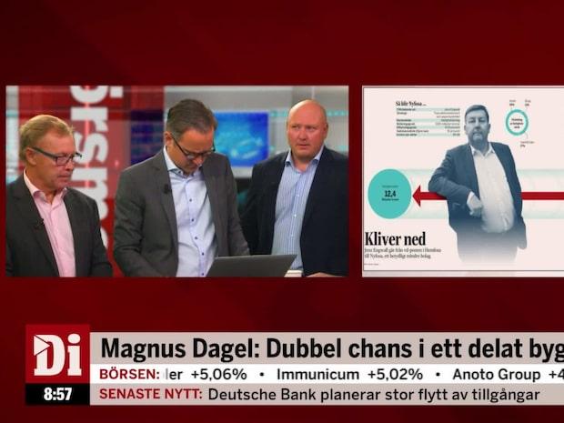 """Dagel: """"Ganska låg risk i aktien"""""""
