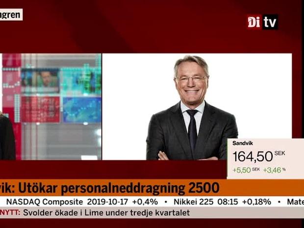 """Vd-intervju Björn Rosengren: """"En ordentlig motvind på industrisidan"""""""