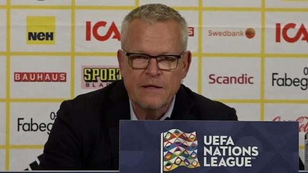 Här svarar förbundskapten Janne Andersson på Dejan Kulusevskis kritik