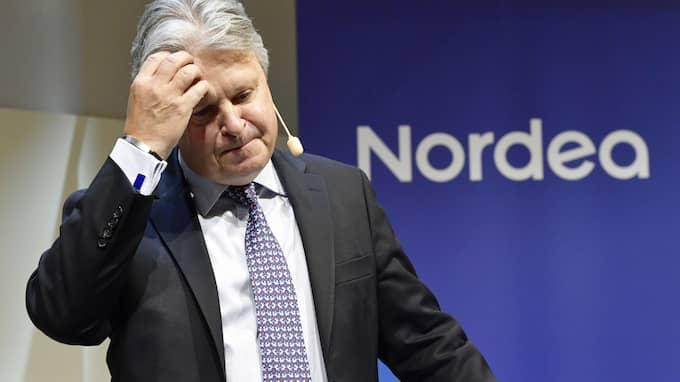 Nu har Nordeas vd och koncernchef Casper von Koskull fått ännu en orsak till huvudvärk: ett nytt bottenbetyg från kunderna. Foto: JONAS EKSTRÖMER/TT / TT NYHETSBYRÅN