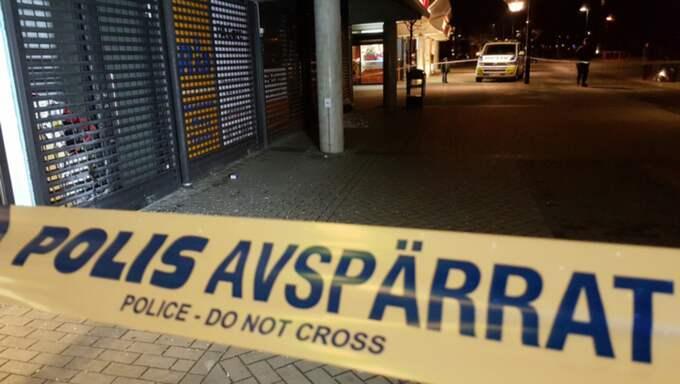 Flera explosioner inträffade på måndagskvällen på Rosengård i Malmö. Foto: Micke Nilsson