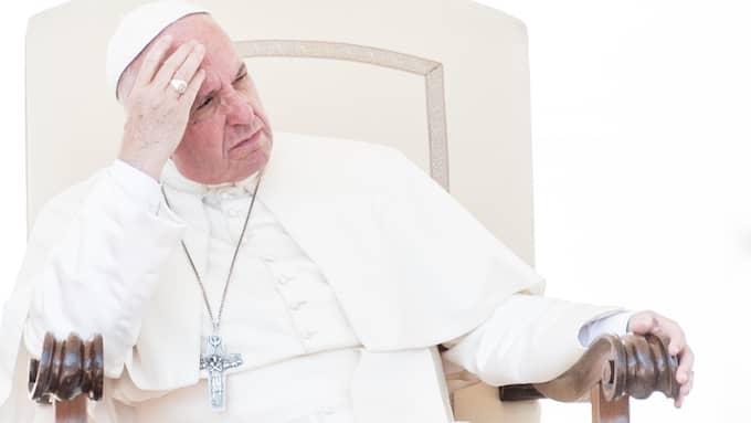 Påve Franciskus och hans liberala hållning har många fiender, också i Vatikanen. Foto: MASSIMILIANO MIGLIORATO / CPP / POLARIS POLARIS IMAGES