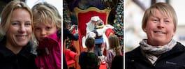 Julskyltningen avtäcktes på  NK – då kom jultomten förbi