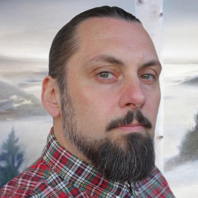 Daniel Grunditz, ny konstnär i LEVA&BO:s konstgalleri.