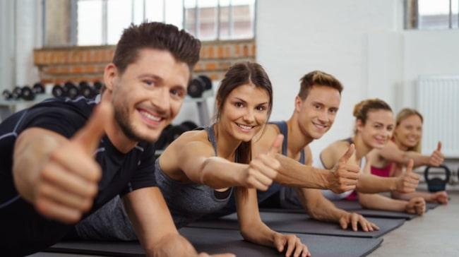 <span>Att träna i grupp är exempelvis inte en favorit.</span>