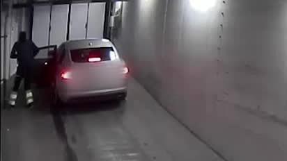 Här flyr männen efter rånet mot Isabel Adrian
