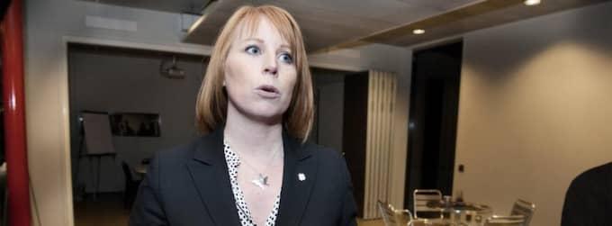 Centerpartiets partiledare Annie Lööf. Foto: Anna-Karin Nilsson