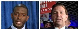 Andrew Gillum ger upp  guvernörsvalet i Florida