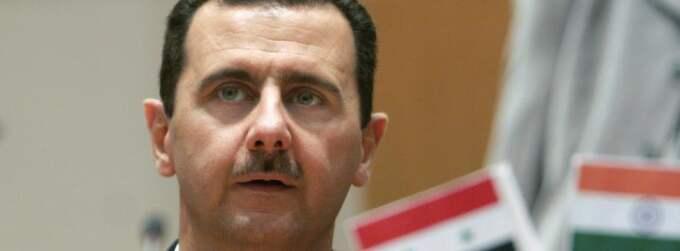 Syriens president Bashar al-Assad. Foto: Aijaz Rahi