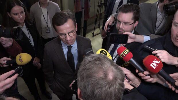 Kristersson: Pågått intensiva samtal med Alliansen