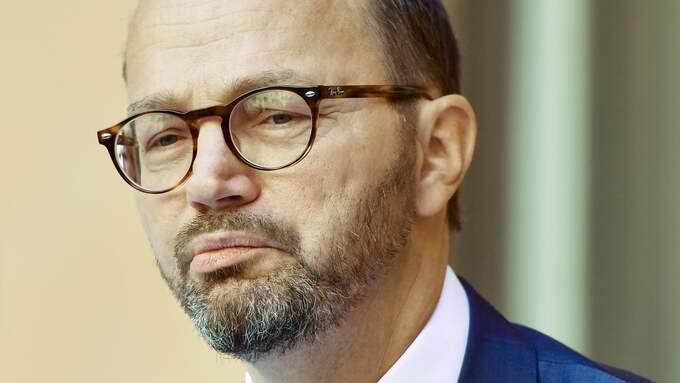 Infrastrukturminister Tomas Eneroth. Foto: ERIK SIMANDER/TT / TT NYHETSBYRÅN