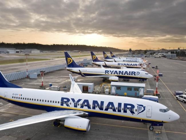 Ryanair fortsätter att satsa på Stockholm Skavsta.