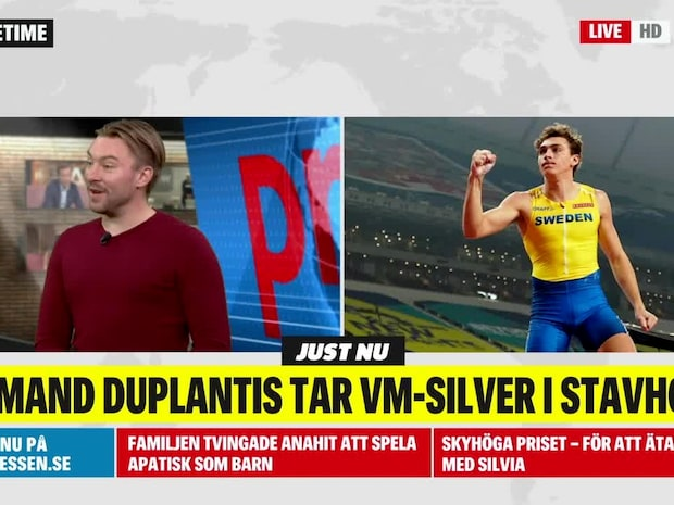 Duplantis tar silver efter jätterysare