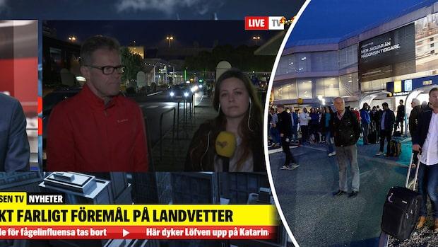 Swedavia bekräftar - misstänkt föremål omhändertaget på Landvetter