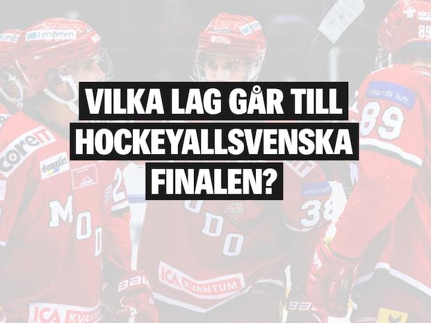 De möts i hockeyallsvenska finalen 2019/20
