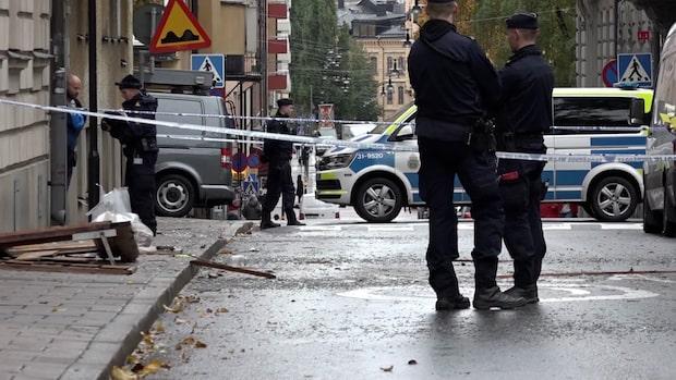 Tre explosioner detonerade utanför och i Stockholm under natten till torsdag