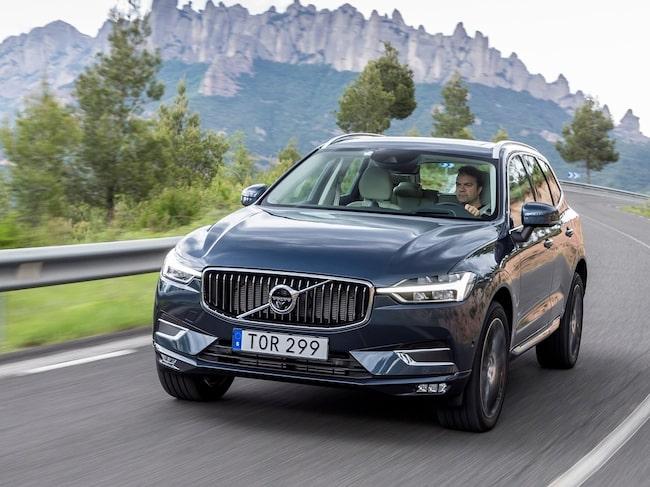 Efterfrågan på Volvos suvar är stor över hela världen. XC60 säljer bäst av alla modellerna.