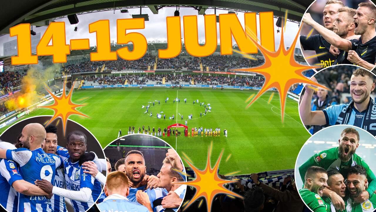 JUST NU: Grönt ljus för allsvensk fotboll